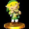 Trofeo de Link (Spirit Tracks) SSB4 (3DS).png