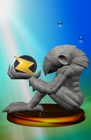 Trofeo de Chozo Statue SSBM.png