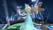 Lanzamiento hacia atrás de Estela SSB4 (Wii U).png