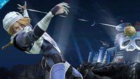 Sheik utilizando la Granada fulminante en Super Smash Bros. para Wii U