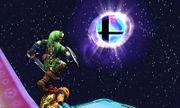 Link junto a una Bola Smash SSB4 (3DS).jpg