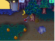 Panal de abejas en Animal Crossing Wild World.png