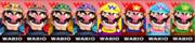 Paleta de colores de Wario SSB4 (3DS).png