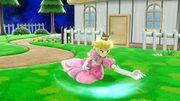 Ataque fuerte hacia abajo Peach SSB4 Wii U.jpg