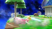 Ataque de recuperación boca abajo Peach SSB4 Wii U.jpg