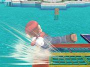 Ataque de recuperación desde el borde +100% Mario SSBB.jpg