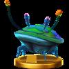 Trofeo de Escarabajo de sílex iridiscente SSB4 (Wii U).png