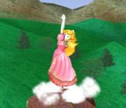 Ataque Smash hacia arriba de Peach SSBM.png