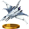 Trofeo de Great Fox (Assault) SSB4 (Wii U).png