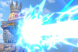 Vista previa de Machacadora en la sección de Técnicas de Super Smash Bros. Ultimate