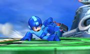 Ataque fuerte inferior de Mega Man SSB4 (3DS).jpeg