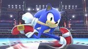 Sonic en el Ring de boxeo SSB4 (Wii U).jpg
