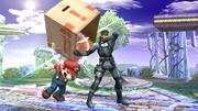 Daño de la caja-Snake SSBB.png
