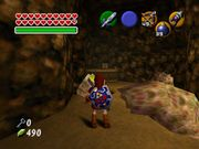 Link siendo atacado por tres Like Like en The Legend of Zelda Ocarina of Time.jpg