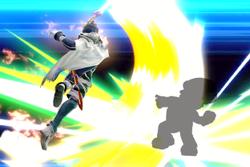 Vista previa de Éter del despertar en la sección de Técnicas de Super Smash Bros. Ultimate