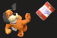 Vista previa de ¡Lata va! en la sección de Técnicas de Super Smash Bros. Ultimate