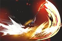 Vista previa de Areadbhar en la sección de Técnicas de Super Smash Bros. Ultimate