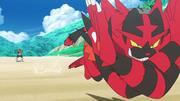 Incineroar usando Tajo Cruzado Sol y Luna (Anime).png