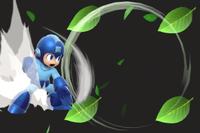 Vista previa de Escudo de hojas en la sección de Técnicas de Super Smash Bros. Ultimate