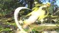 Toon Link siendo lanzado en el Vergel de la Esperanza SSB4 (Wii U).jpg