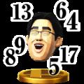 Trofeo de Dr. Kawashima SSB4 (Wii U).png