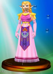 Trofeo de Princesa Zelda SSBM.png
