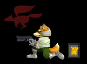 Pose de victoria Fox Y (2) SSBM.png