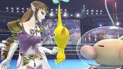Zelda y Olimar en el Ring de boxeo SSB4 (Wii U).jpg