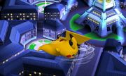 Ataque aéreo trasero Pikachu SSB4 (3DS).JPG