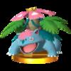 Trofeo de Mega-Venusaur SSB4 (3DS).png