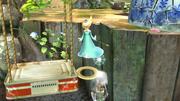 Estela haciendo un Smash meteórico a Link SSB4 (Wii U).png