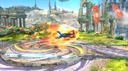 Karateka Mii usando Patada ardiente (3) SSB4 (Wii U).png