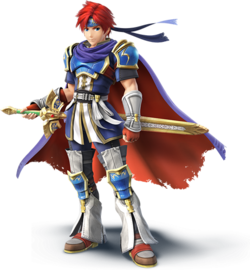Art oficial de Roy en Super Smash Bros. para Nintendo 3DS y Wii U