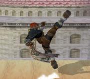 Ataque Smash hacia arriba de Ganondorf (1) SSBM.png