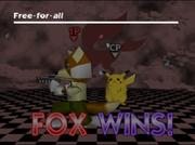 Pose de victoria de Fox (2-2) SSB.png