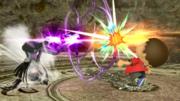 Movimiento especial normal de Bayonetta (2) SSB4 (Wii U).png
