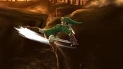 Ataque aéreo trasero de Link (2) SSB4 (Wii U).png