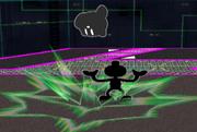 Lanzamiento hacia abajo Mr. Game & Watch SSBM.png