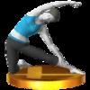 Trofeo de El travesaño SSB4 (3DS).png