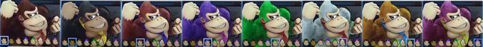 Paleta de colores Donkey Kong SSBU.jpg