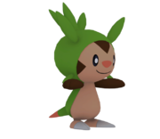 Pose T Chespin SSB4 (Wii U).png