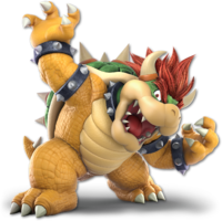 Art oficial de Bowser en Super Smash Bros. Ultimate.