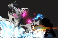 Vista previa de Contrataque dragó en la sección de Técnicas de Super Smash Bros. Ultimate