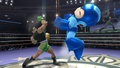 Little Mac golpeando a Mega Man - (SSB. for Wii U).jpg
