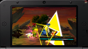 Link efectuando Golpe Trifuerza SSB4 (3DS).png