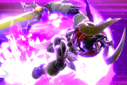 Vista previa de Ganon, el rey demonio en la sección de Técnicas de Super Smash Bros. Ultimate