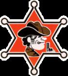 Logo del juego Sheriff, donde se puede ver el rostro del personaje