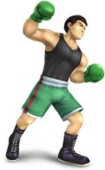 Art Oficial de Little Mac en Super Smash Bros. Brawl