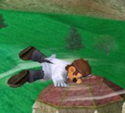 Ataque Smash hacia abajo de Dr. Mario (2) SSBM.png
