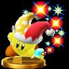 Trofeo de Kirby Rayo SSB4 (Wii U).png
